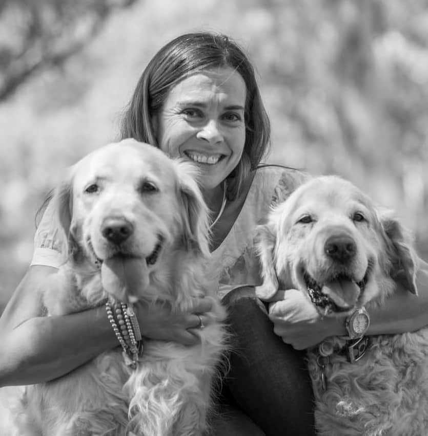 Lara-with-dogs